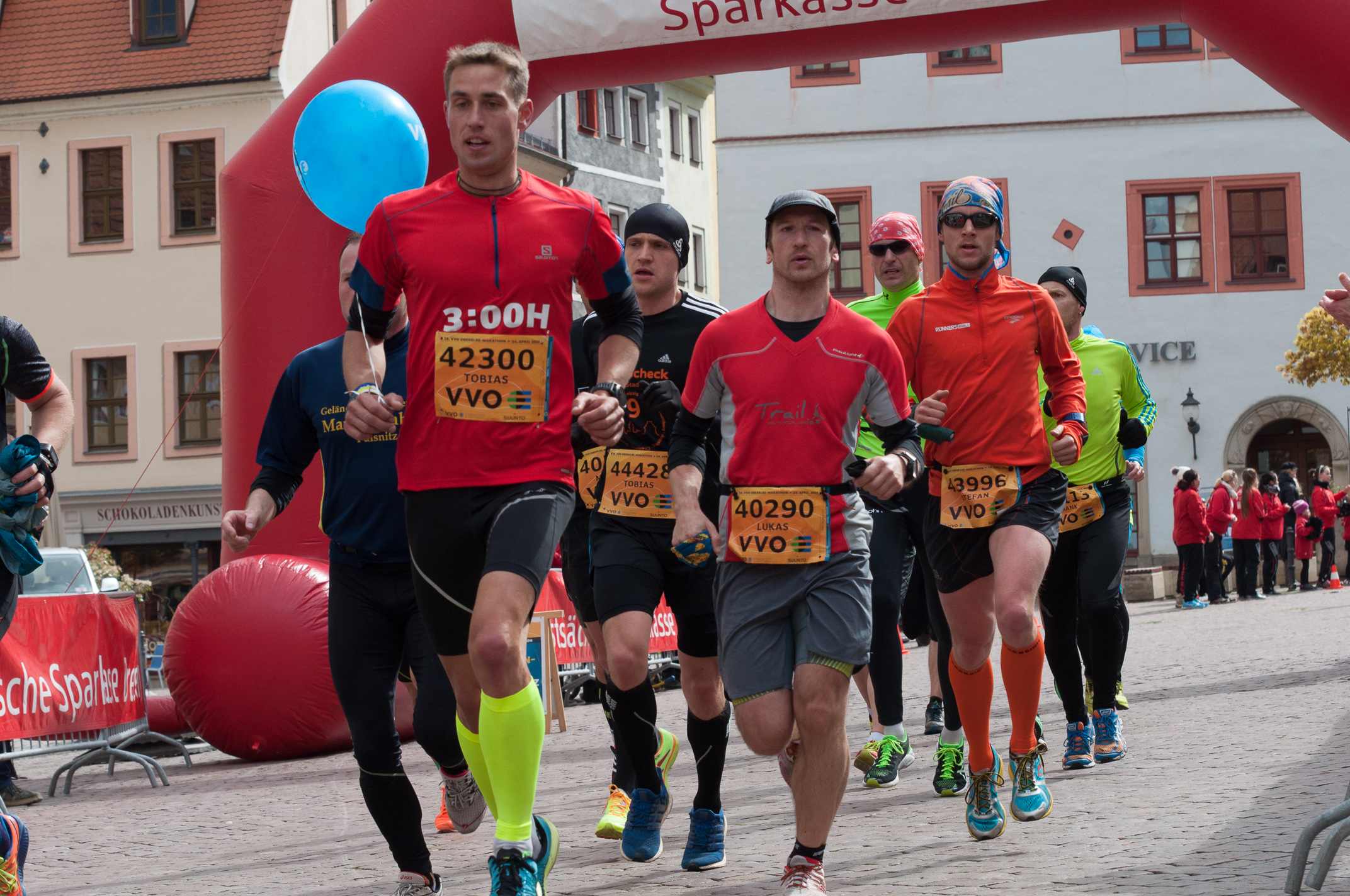 19. VVO Oberelbe-Marathon, 24. April 2016