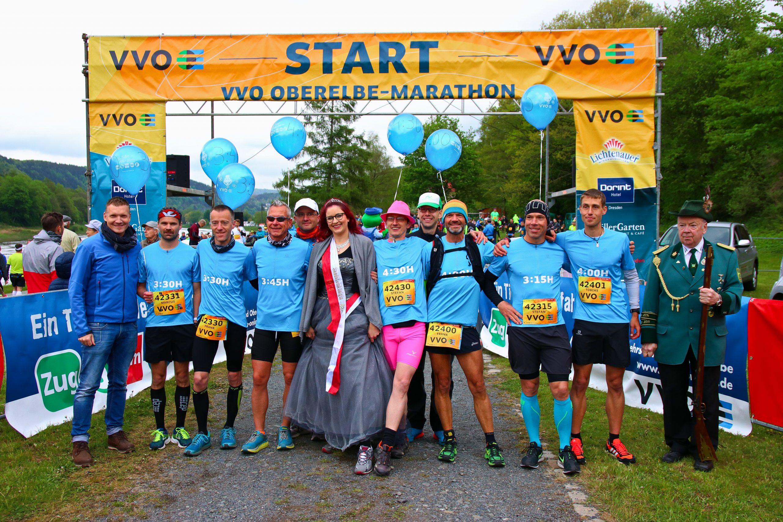 22. VVO Oberelbe-Marathon, 28. April 2019