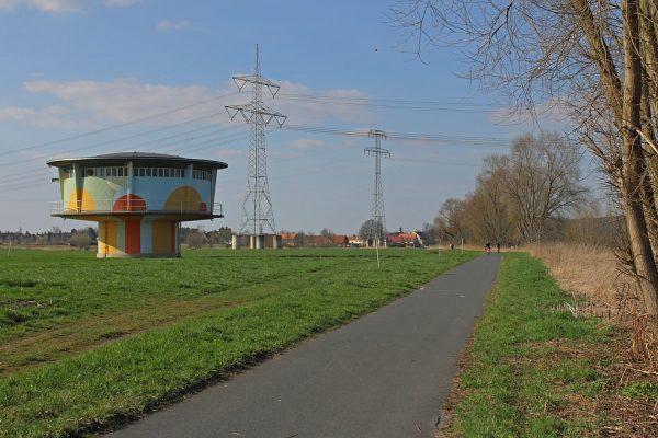 KM26_Elberadweg Wasserturm Heidenau