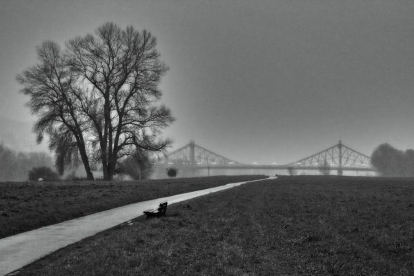 KM36_Blick zurück zum Blauen Wunder Dresden 2